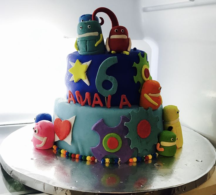 Ideas For Storybots Cakes