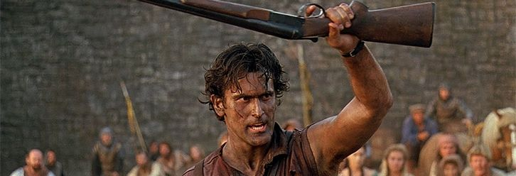 """Bruce Campbell confirms """"Army of Darkness 2"""" is happening!!   I was in the crowd for that particular interaction. I hope it does happen, though the way it all went down still makes me wonder."""