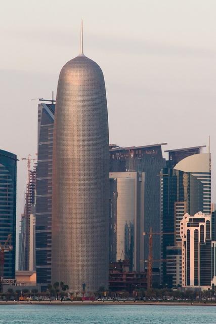 Burj Qatar    Burj Qatar tower in Doha.