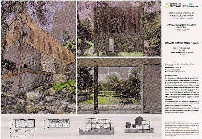 Bitácora Arquitectura Peruana: Ganadores VIII Concurso Nacional de Calidad Arquitectónica CAP 2009. Premio Celima.