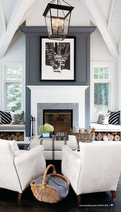 Deeply obsessed: white furniture, gray walls