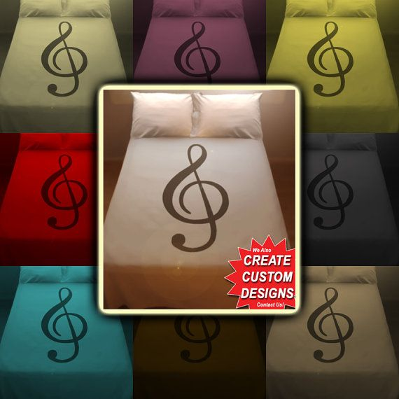 Musical Music Bedding Duvet Cover Queen King Twin by QUEENBEDDING