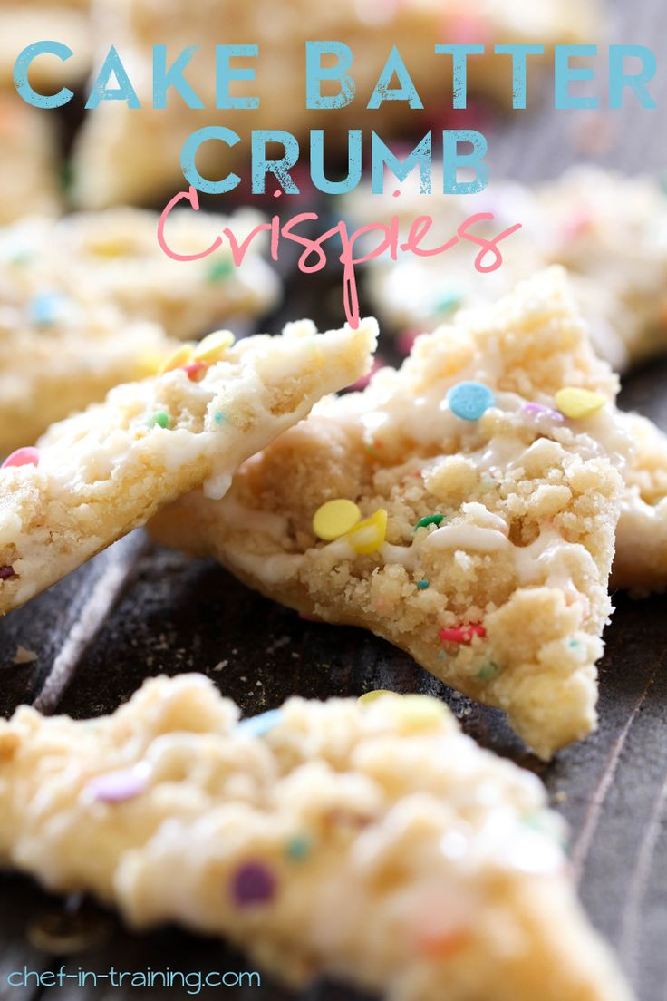 You have probably met the famous Sugar Crumb Crispies on my blog, and might have had the privilege to be introduced to its sister recipes, the Oreo Crumb Crispies, but now I would like to introduce you to the next family member, Cake Batter Crumb Crispies. The cake batter crumb is delicious. It takes the …