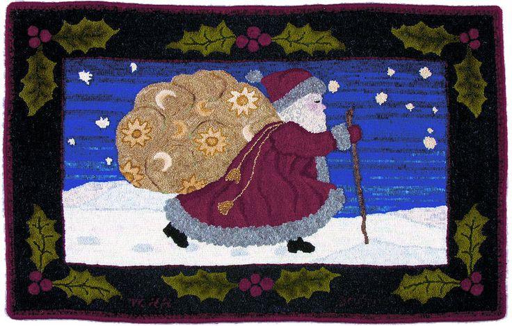 christmas wool hanging