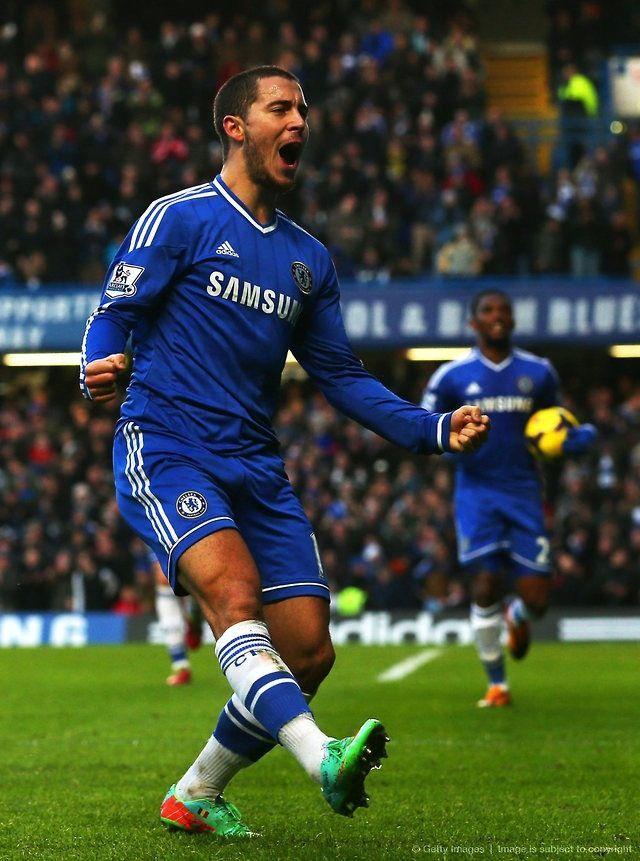 Chelsea FC Eden Hazard  www.findaballer.com