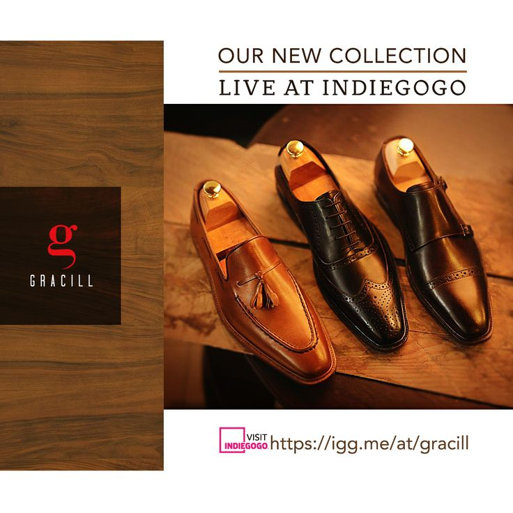 Ad/Post/Content for Facebook & Instagram for www.gracill.com (Premium Handcrafted Men Shoes) __ Designed by: www.skin3design.com