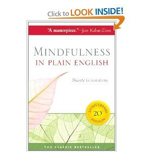 Mindfulness in Plain English: 20th Anniversary Edition: Bhante Gunaratana: 9780861719068: Amazon.com: Books  A great intro to the world of Vipassana meditation
