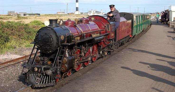 Take a ride on The Romney Hythe and Dymchurch #Railway, perfect for the children!