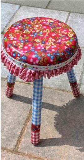 Decopatch stool.