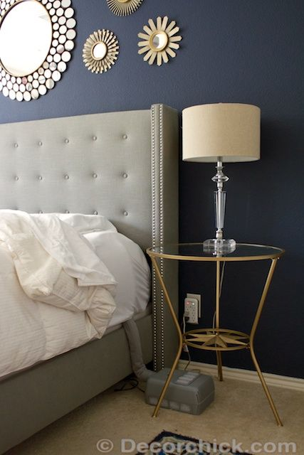 25 best ideas about indigo bedroom on pinterest blue for Navy blue and gold bathroom accessories
