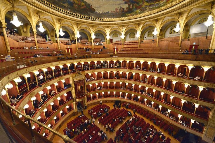 Teatro dell´Opera - The Rome Opera House - between the Esquiline Hill and the Quirinale - where the Opera Tosca was premiered on 14 January 1900.