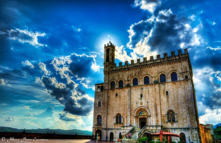 Photograph Palazzo dei Consoli by Nick Abbrey on 500px | #AltaUmbria #Gubbio