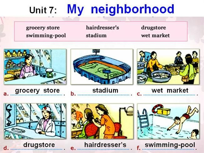 Image Result For My Neighbourhood Worksheets For Kids Worksheets For Kids Preschool Activities The Neighbourhood