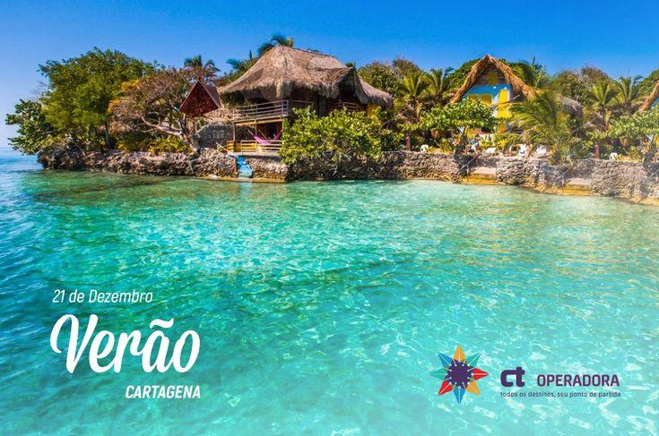Bem-vindo verão! Ou, Bienvenido verano! , para aqueles que aproveitarão a estação mais ensolarada do ano em um dos destinos mais cobiçados do ano, Cartagena das índias.  #ctoperadora #queroconhecer #seumelhordestino