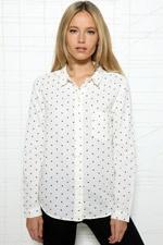 BDG Polka Dot Oxford Shirt