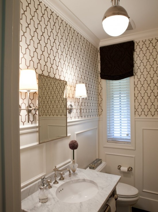 Traditional Powder Room Design, Pictures, Remodel, Decor and Ideas