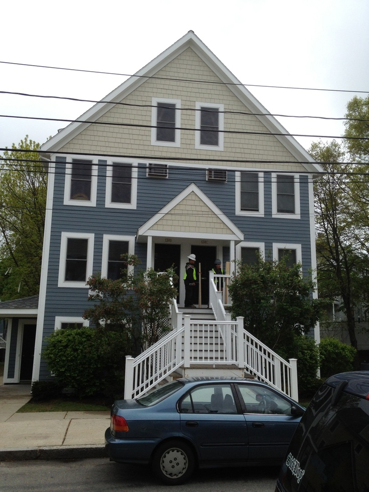 Wonderful Lucerne Gardens Status : Complete Location : Dorchester MA Job Type:  Weatherization/siding/