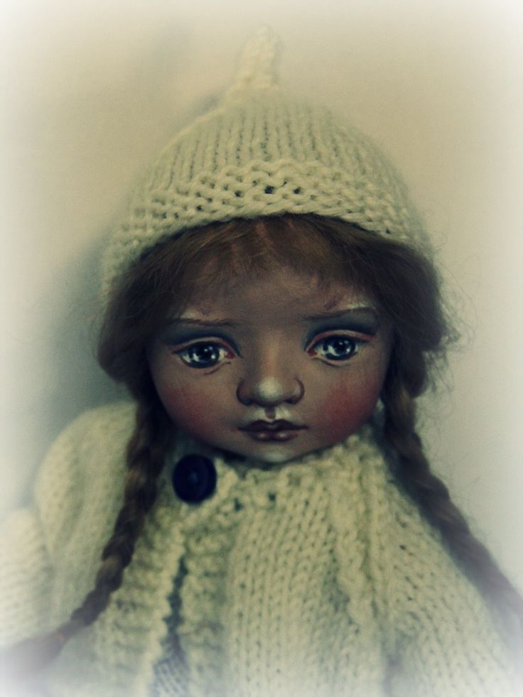Cloth doll by Susie McMahon