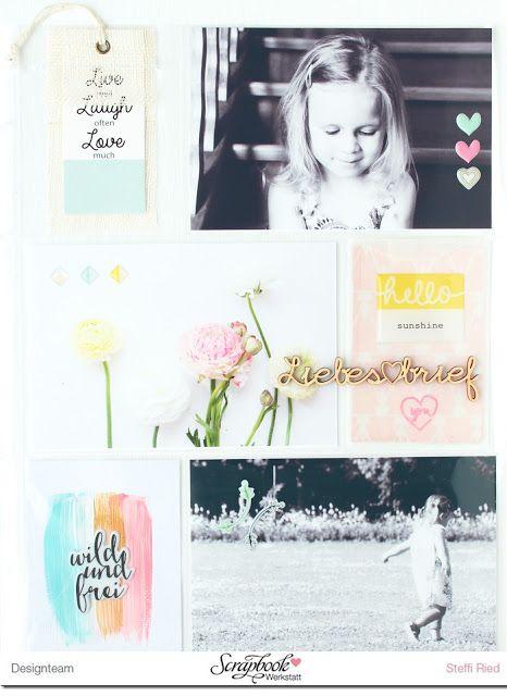 Project Life mit PinkfreshStudio MaiKit und SBW Wood Veneer - Scrap Sweet Scrap