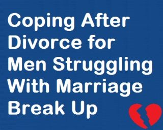 coping with a breakup for men