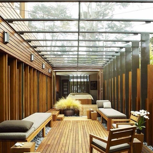 An outdoor tranquil space to enjoy through all seasons. #sydneylocal #sydneybuilder #architecture #building #decor
