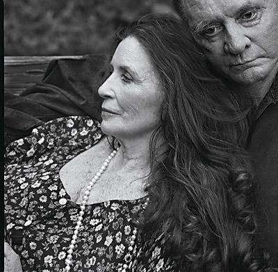 June Carter Cash and Johnny Cash by Annie Leibovitz