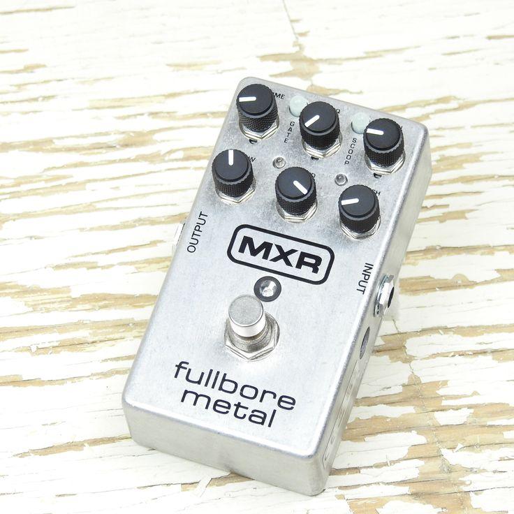 Used: MXR Fullbore Metal Distortion Pedal
