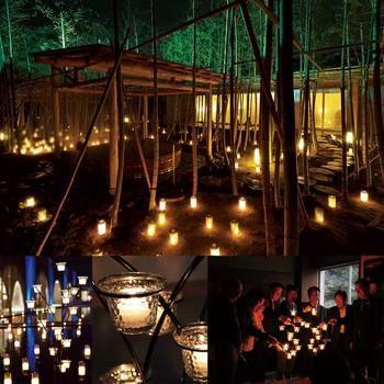 こちらは今年4月に行われた湯の山温泉全体で行われたイベント「湯の山 キャンドルナイト」。 カメヤマローソクとのコラボにより、アクアイグニスにも優しいキャンドルの明かりが灯りました。 イベント等はホームページ、Facebookなどで告知されますので、是非チェックしてみてください♪