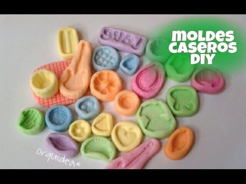como hacer moldes flexibles *caseros - YouTube