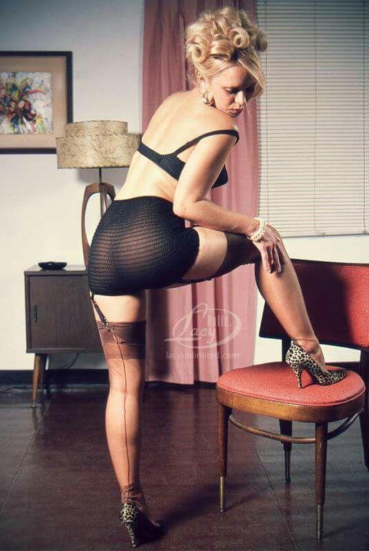image Wearing pantyhose make me feel so feminine and horny