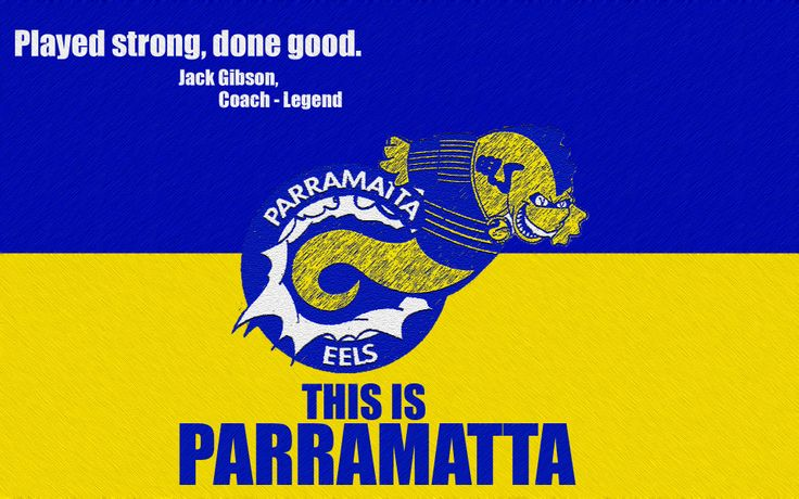 Parramatta Eels Quote Wallpaper (V2) by Sunnyboiiii