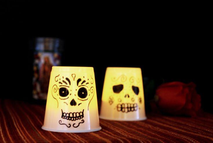 Día de Los Muertos lanterns (kid and school friendly)