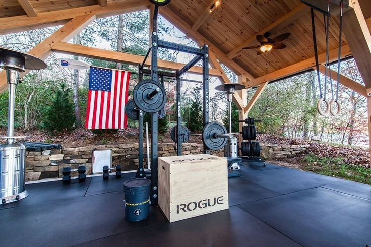 The nicest garage gym we have ever seen at crossfit