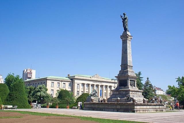 Rousse, Bulgaria - Statue of Liberty