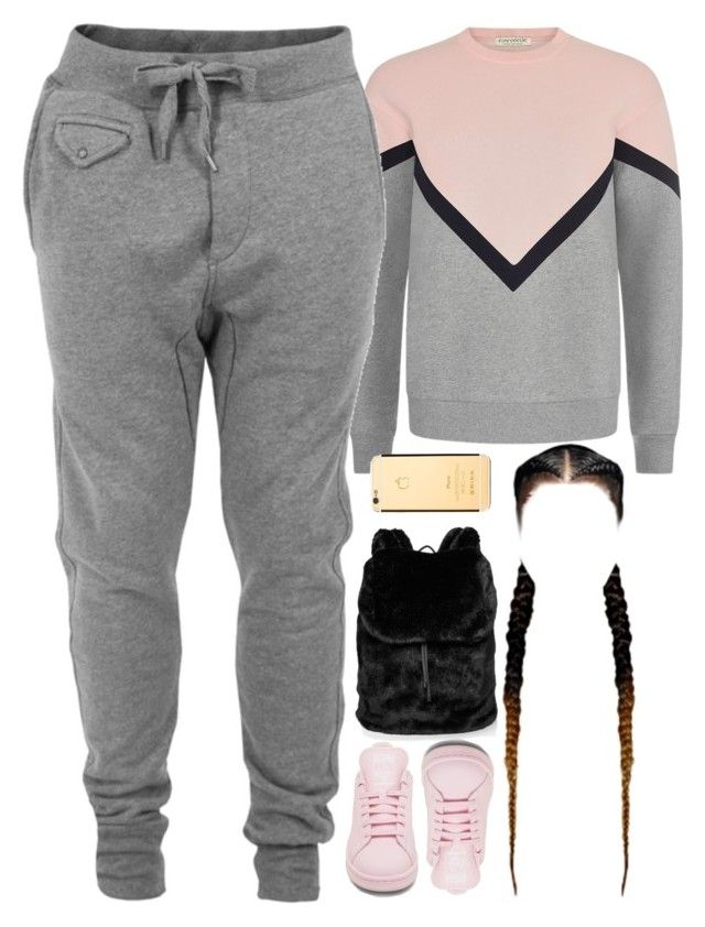 """""""14 December, 2016"""" by jamilah-rochon ❤ liked on Polyvore featuring Être Cécile, Diesel, adidas and Puma"""