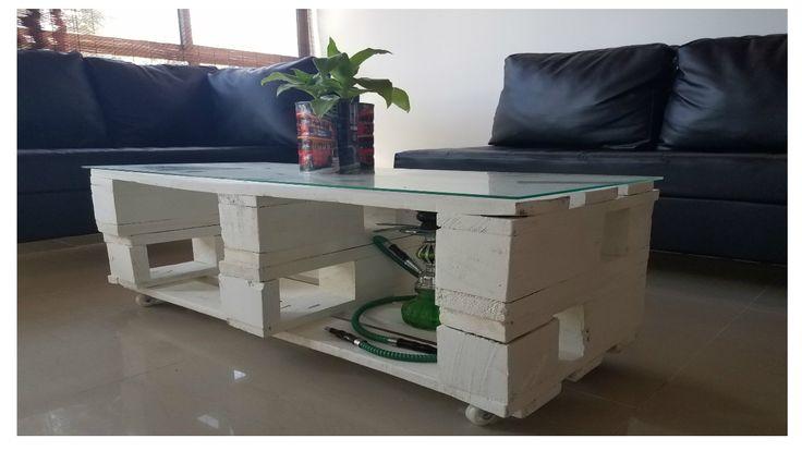 MESA DE CENTRO CON PALETS / PALLET COFEE TABLE