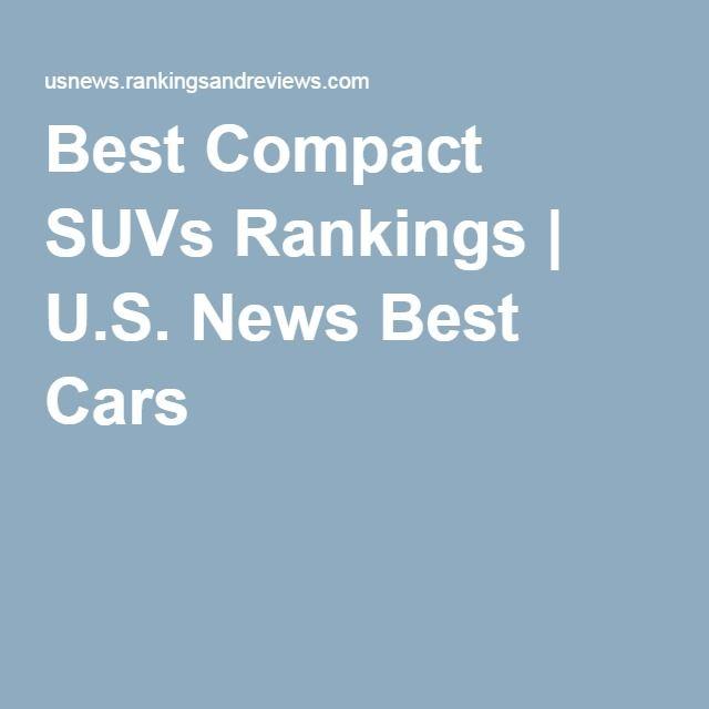 Best Compact SUVs Rankings   U.S. News Best Cars