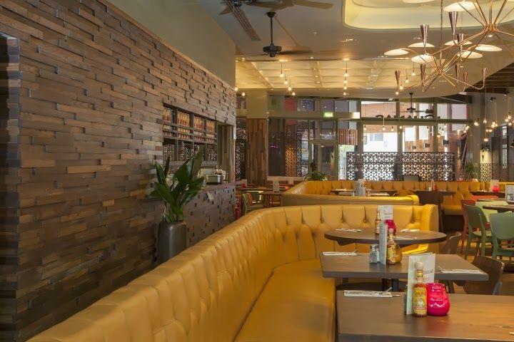 Aydınlatma ve Dekor Dünyasından Gelişmeler: B3 Designers'dan Londra'da Las Iguanas Restaurant #aydinlatma #lighting #design #tasarim #dekor #decor