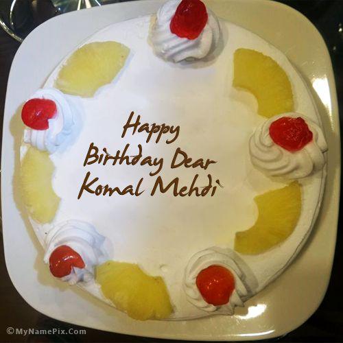 Komal 3 Hareem S Cool Stuff Birthday Cake Cake Birthday