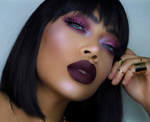 Sugar plum queen @iamcharityleigh  Details: EYES: Candied Plum, Fairy Floss, Nutcracker, and Sugar & Spice from SUGAR PLUM + Blow from BUBBLEGUM #PocketCandyPalette Liner: WISTERIA Velvetine Highlight: Lavender from HI-LITE: Blossoms Lips: NIGHTSHADE Velvetine