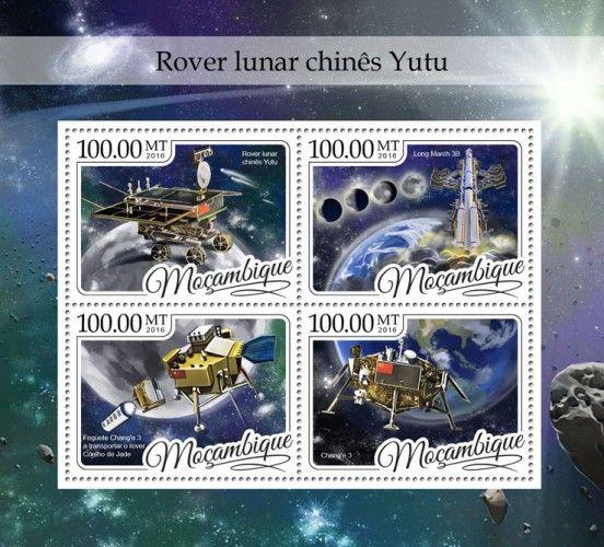 MOZ16406a China's Yutu Moon Rover (Long March 3B; The Chang'e 3 rocket carrying the Jade Rabbit rover; Chang'e 3)