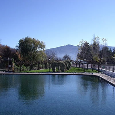 Cela spring water pool