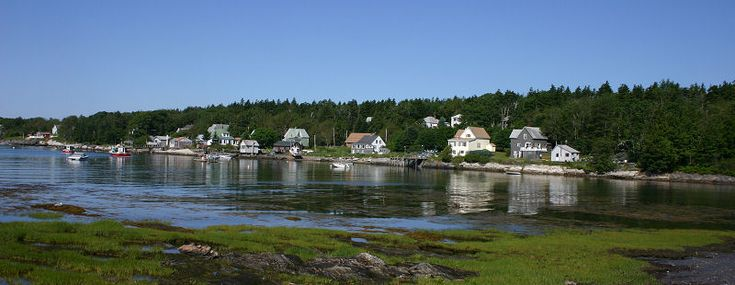 Cliff Island Maine Historic Map