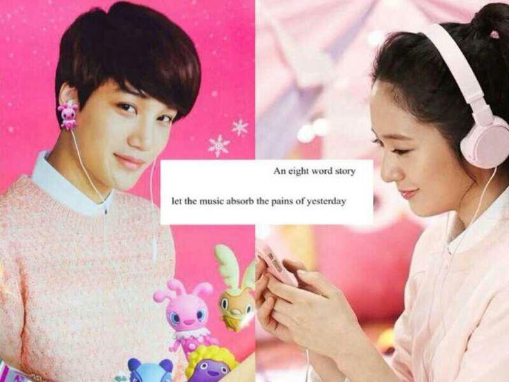 Pinky kaistal Kai and Krystal kaistal #jongin #soojung #exo #f(x) cr: megan