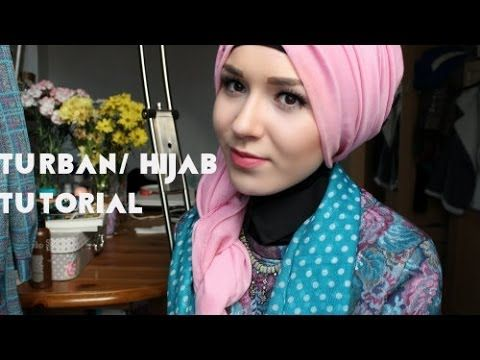 Side Twist Turban/Hijab Tutorial - YouTube
