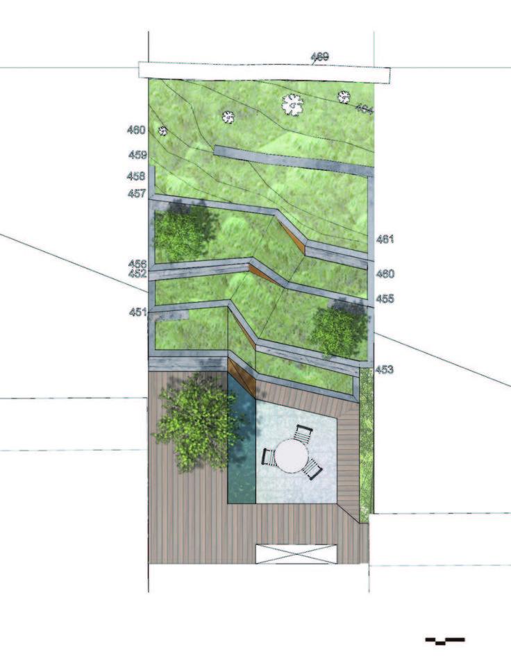 Hilgard Garden | Mary Barensfeld Architecture #drawing #plan