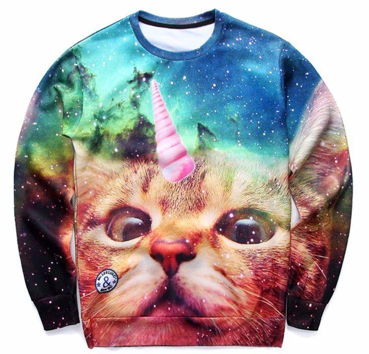 Unicorn Kitty Sweatshirt