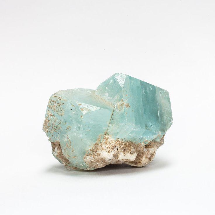Aquamarine & Stilbite