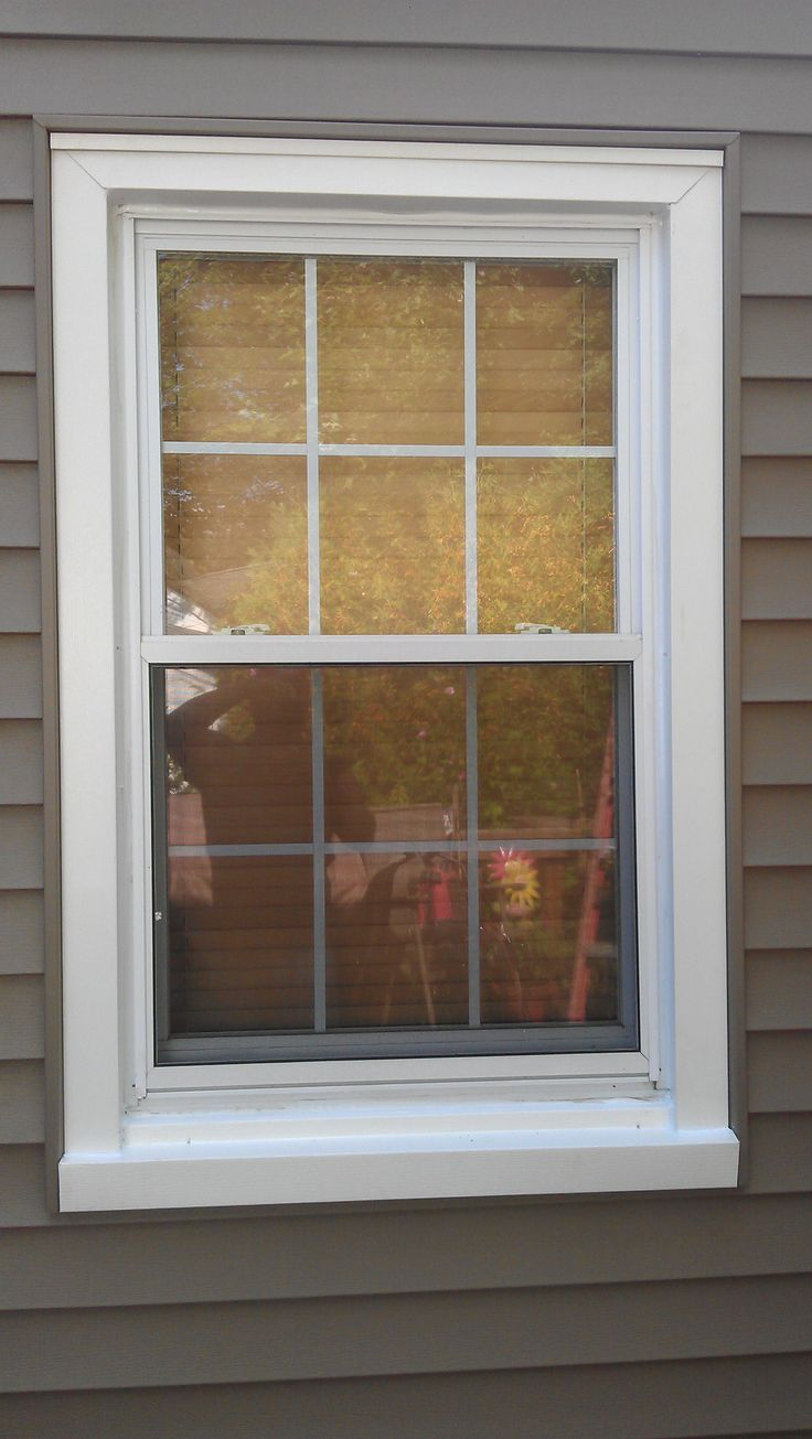 New double hung vinyl window replacements from anderson for Vinyl home windows