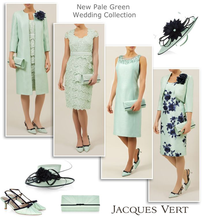 3d6c0e88a588 Pale Green Mother of the Bride Outfits Spring Summer 2015